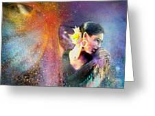 Flamencoscape 04 Greeting Card