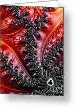 Flames - A Fractal Abstract Greeting Card