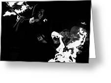 Flames Of Revenge Greeting Card