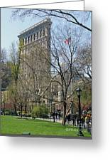 Flatiron Building-3 Greeting Card