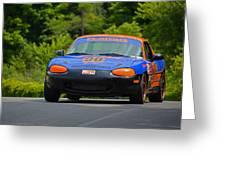 Flatout 90 Mazda Greeting Card
