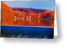 Flatrock Dam Greeting Card