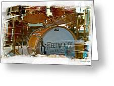 Fleetwood's Drums Greeting Card