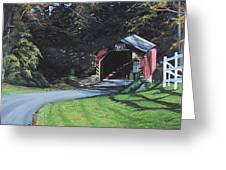 Fleisher's Bridge Greeting Card