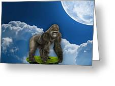 Flight Of The Ape Greeting Card