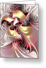 Flight Of The Phoenix Greeting Card by Anastasiya Malakhova