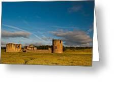 Flint Castle Greeting Card