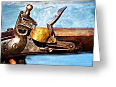 Flintlock Greeting Card by Marty Koch