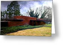 Fllw Rosenbaum Usonian House - 1 Greeting Card