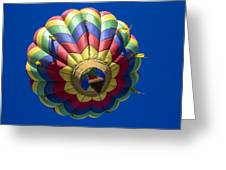 Floating Free Greeting Card