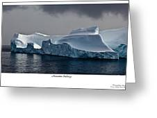 Floating Giants 2 Greeting Card by David Barringhaus