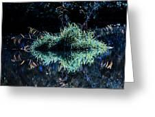 Floating Island Greeting Card by Leif Sohlman