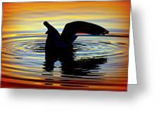 Floating Wings Greeting Card