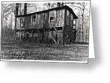 Flood House In Mississippi Delta Greeting Card