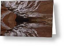 flooded Ohio cave Greeting Card