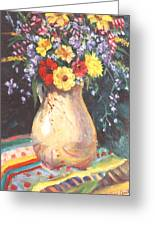 Floral 15 Greeting Card