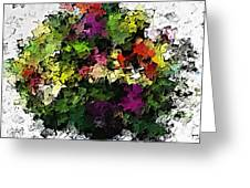 Floral A3 Greeting Card