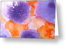 Floral Abstract Greeting Card by Patricia Howitt