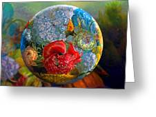 Floral Ambrosia Greeting Card