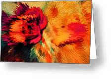 Floral Art Xxi Greeting Card