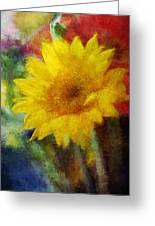 Floral Art Xxxvi Greeting Card