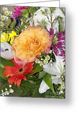 Floral Bouquet 3 Greeting Card