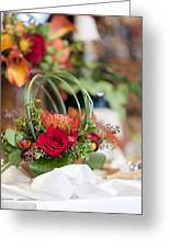 Floral Centerpiece Greeting Card