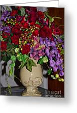 Floral Decor Greeting Card