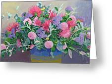 Floral Display Greeting Card