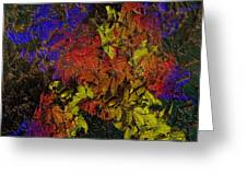Floral Explosion Greeting Card