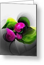 Floral Expression 111213 Greeting Card