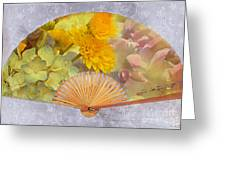 Floral Fan Greeting Card