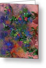 Floral Fantasy 010413 Greeting Card