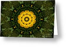 Floral Fantasy - 34 Greeting Card