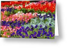 Floral Fantasy Greeting Card by Dan Sproul