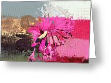 Floral Fiesta - S33ct01 Greeting Card