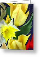 Floral Flow Greeting Card
