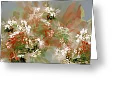 Floral Fractal 030713 Greeting Card