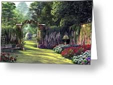 Floral Garden Greeting Card