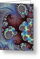 Floral Grandeur Greeting Card