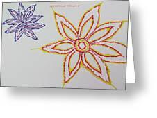 Floral Joy  Greeting Card
