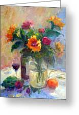 Floral Paintings Fp18 Greeting Card