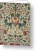 Floral Pattern Greeting Card by William Morris