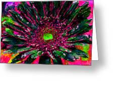 Floral Revolution 2 Greeting Card