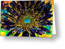Floral Revolution 3 Greeting Card