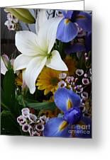 Floral Rhapsody Greeting Card