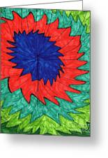 Floral Spin Greeting Card