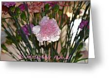 Floral Standout Greeting Card