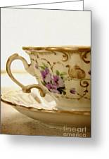 Floral Tea Greeting Card