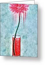 Floral - The Dancing Gerbera Greeting Card